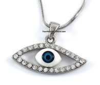 Blue Evil Eye Protection Necklace