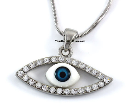 Blue Evil Eye Protection Necklace