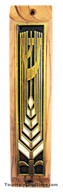 OLIVE WOOD MEZUZAH CASE