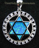 Sterling Silver STAR OF DAVID UNIQUE PENDANT