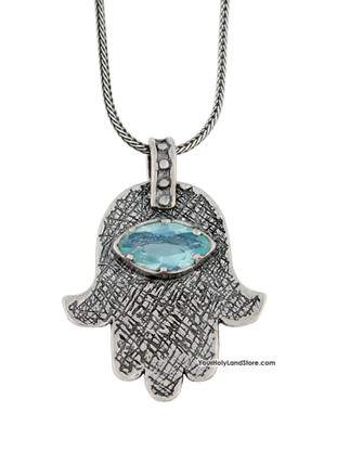 Hamsa Protection Hand Necklace