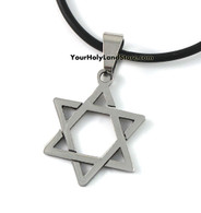 Jewish Star of David Adjustable Necklace