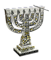Traditional Jewish Menorah