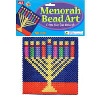 Menorah Bead Art