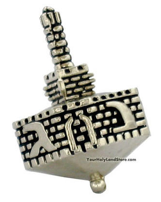 """Tower of David"" Hanukkah Dreidel"