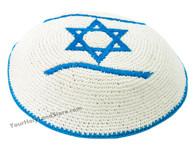 KIPPAH WITH FLAG OF ISRAEL