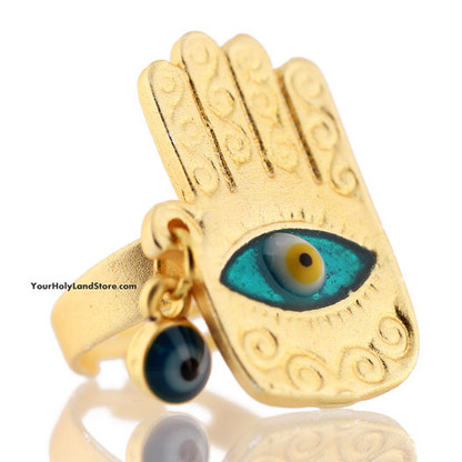 HAMSA PROTECTION HAND RING