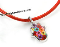 Thousand Flowers Kabbalah Red String Protection Bracelet