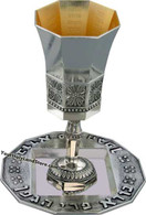 Kabbalah Mystical Wine Kiddush Goblet