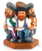 Group of 6 Dansing Jewish Hassidim Figurine