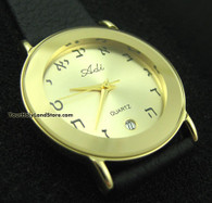 Hebrew Letters Watch by Adi