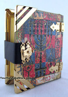 Tehillim Psalms Book with Menorah Cover by Jack Jaget