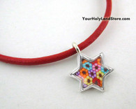 Thousand Flowers Kabbalah Protection Bracelet with Star of David