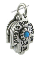 5 Hamsa Hands with Ben Porat Yosef and Priestly Blessing Pendant