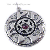 72 Names of God Pendant with Star of Magen David