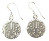 Hamsa Protection Hand Earrings