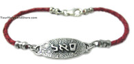 Kabbalah Red String Bracelet for Abundance, Prosperity & Success