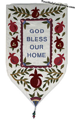 God Bless Our Home Tapestry