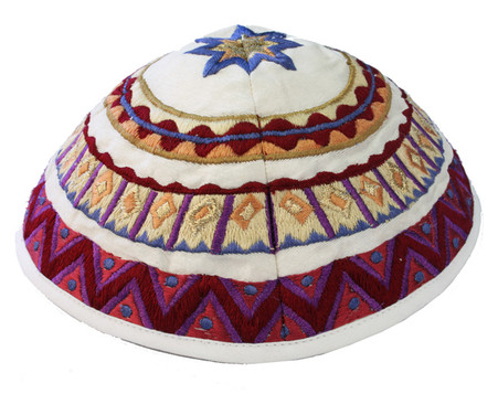 Embroidered Yarmulke