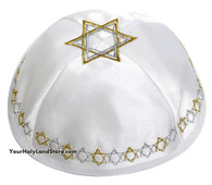 Jewish Yarmulke with Star of David