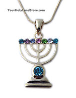 Menorah Necklace
