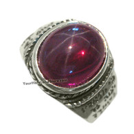 Star Ruby Ring with Blessing