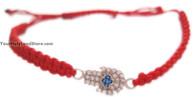Kabbalah Red String Macrame Bracelet
