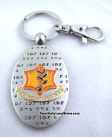 IDF Key Holder with Protection Prayer