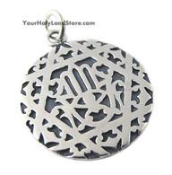 Silver Hamsa Pendant