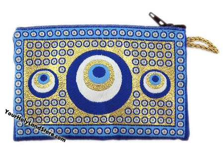 Evil Eye Coin Purse