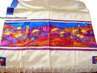 Cotton and Silk Tallit
