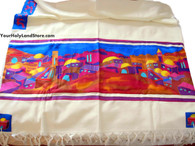 Cotton and Silk Tallit