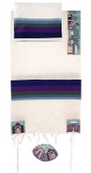 Embroidered Cotton Tallit