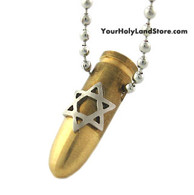 Magen David Bullet Necklace