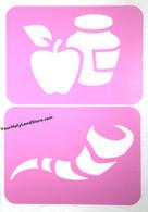 Rosh Hashana Stencils