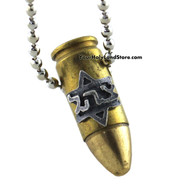 Uzi Bullet Necklace
