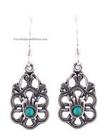 925 Sterling Silver Hamsa Earrings