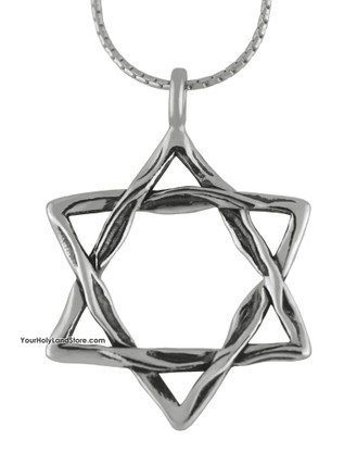 Judaica Star of David Necklace