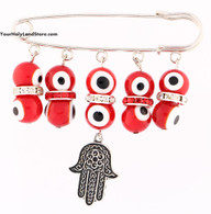 Baby Jewelry - Evil Eye Pin