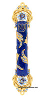 Mezuzah Case with Flowers