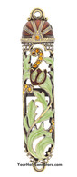 Enameled Mezuzah Case