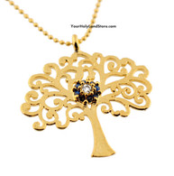 Kabbalah Tree of Life Necklace