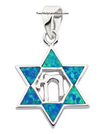 Star of David and Chai Pendant