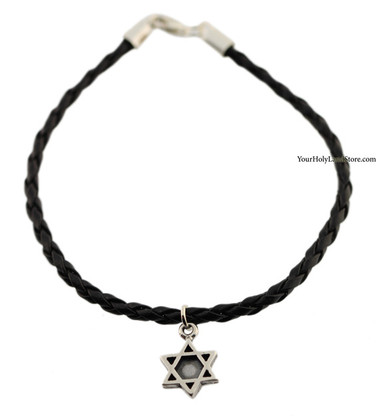 925 Sterling Silver Star of David Bracelet