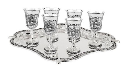 Liquor Set - Jerusalem Design