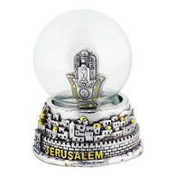 Snow Globe with Hamsa