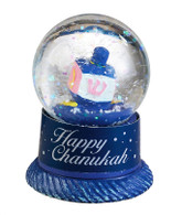 Chanukah Snow Globe with Dreidel