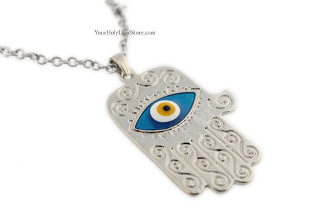 Big Hamsa Necklace