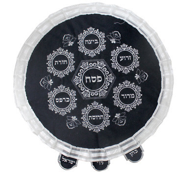 Passover Velvet Matzah Cover
