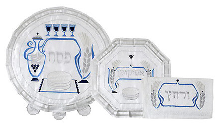 Three Piece Passover Set